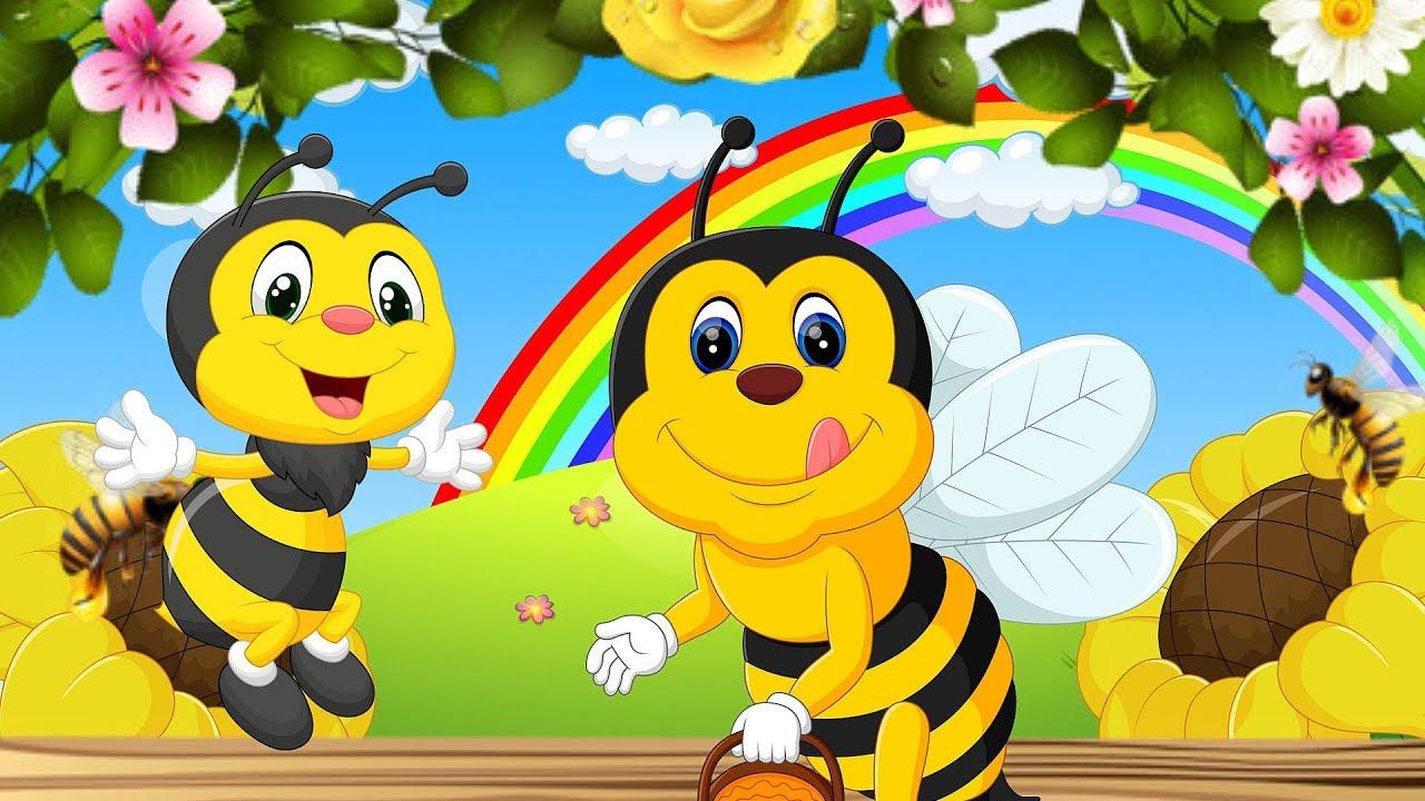 Пчелки картинки в детский сад